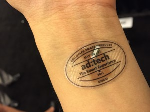 Smart Skin Wearable Prize Campaign at ad:tech SF